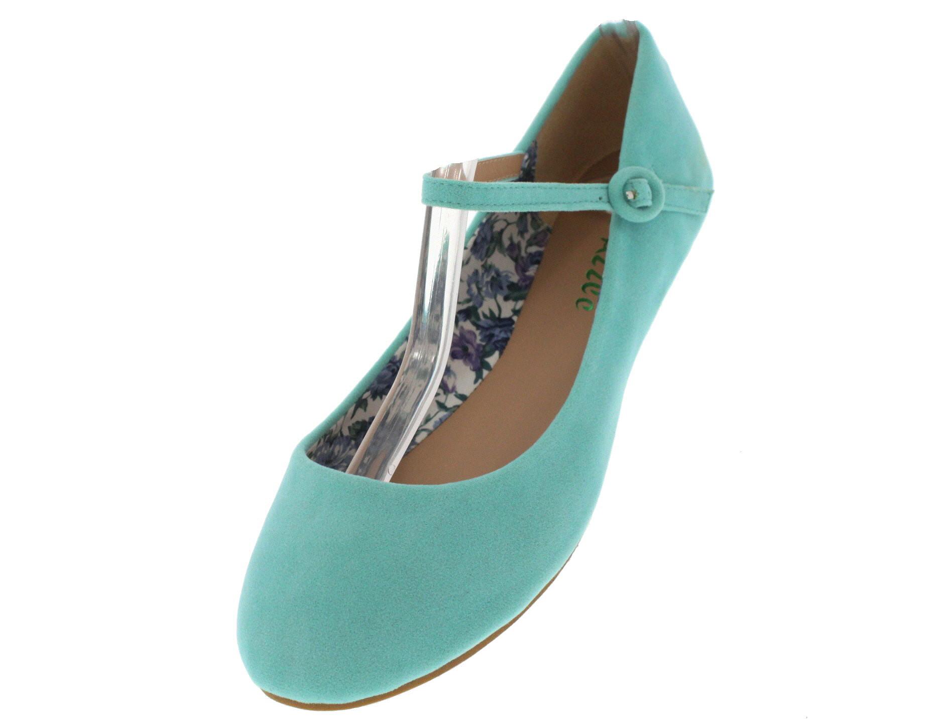 Zapato Mujer Genérica Arwa Azul Planos