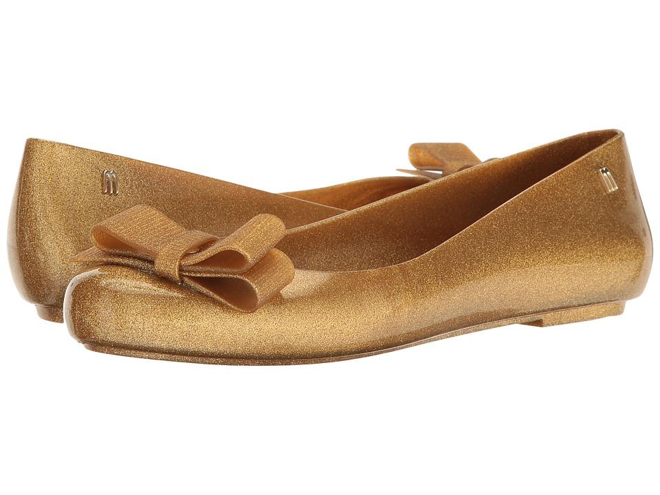 Zapato Mujer Melissa Shoes Space Love + Jason Wu III Dorado Planos Sintético