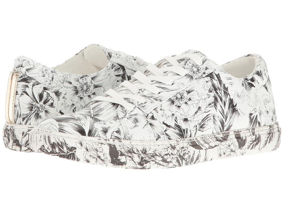 Zapatilla Mujer Kenneth Cole New York Kam Blanco Planos Cuero Natural