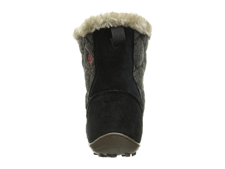Zapato Mujer Columbia Minx Shorty Omni-Heat Wool Negro Planos Lana Gamuza Sintético